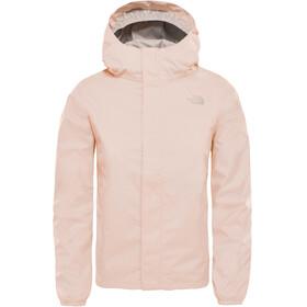 The North Face Resolve Reflective Jacket Girls Pink Salt